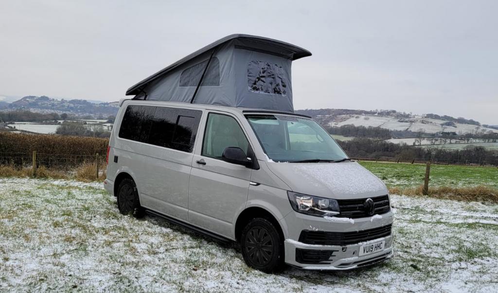 Camper Hire Wales - Jesse